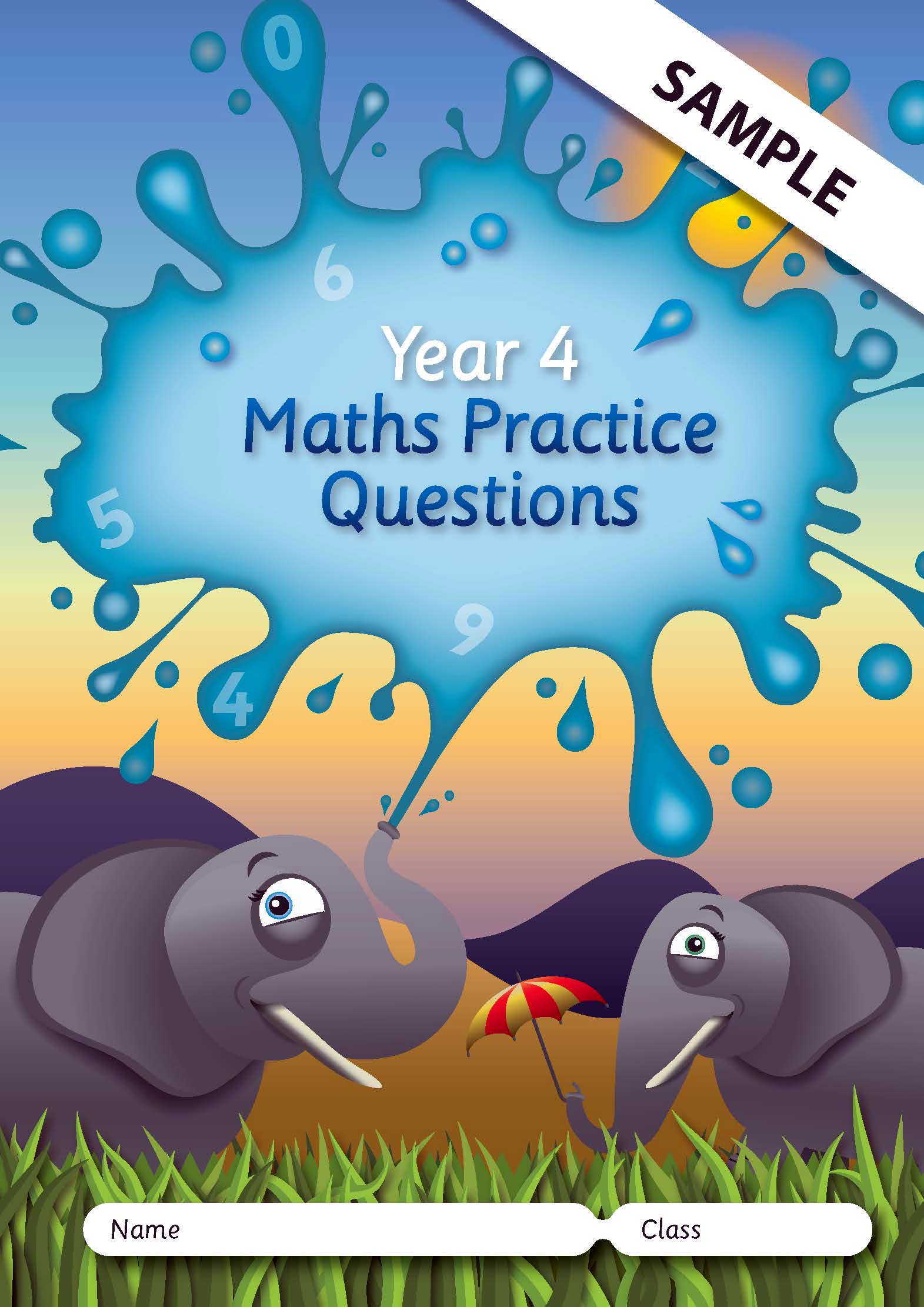 KS2 Maths Practice Questions Books