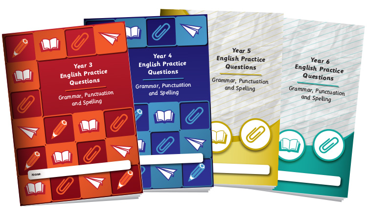English Grammar, Punctuation and Spelling Books