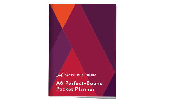 Perfect-bound Pocket Student Planners