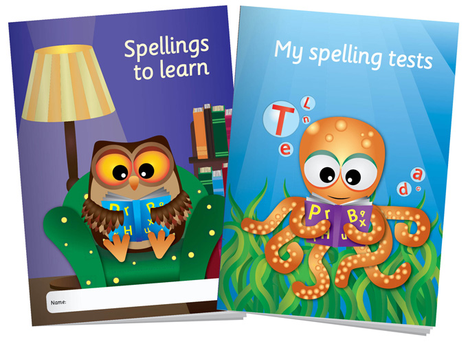 Spelling Booklets